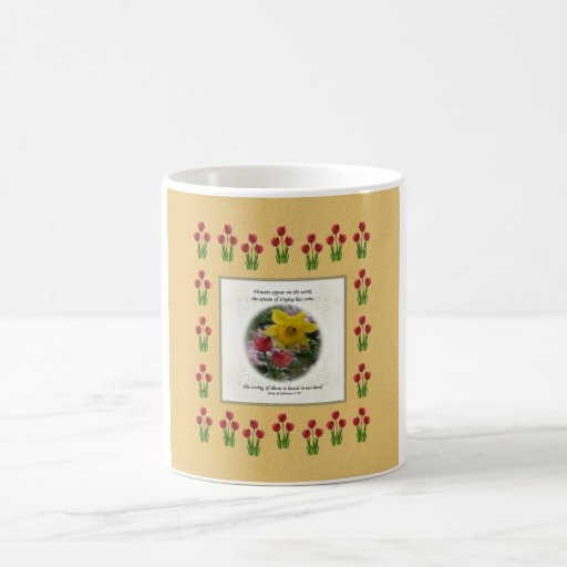 Song of Solomon 2:12 Coffee Mugs