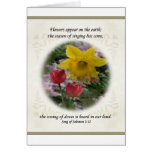 Song of Solomon 2:12 Greeting Card