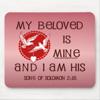 Song of Solomon 2:16 Mouse Pad