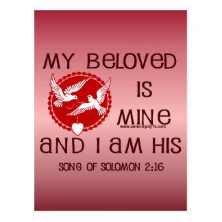 Song of Solomon 2:16 Postcard