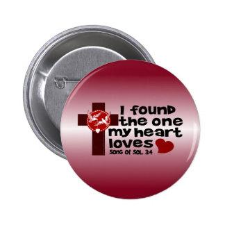 Song of Solomon 3 4 Pinback Button