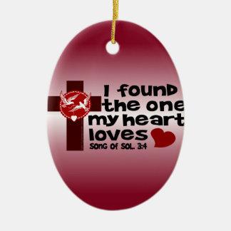 Song of Solomon 3:4 Christmas Tree Ornament