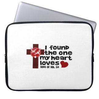 Song of Solomon 3:4 Laptop Computer Sleeves