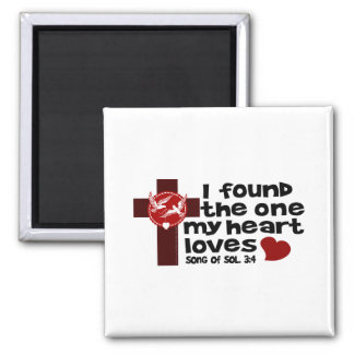 Song of Solomon 3 4 Refrigerator Magnets