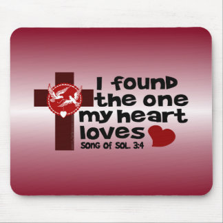 Song of Solomon 3:4 Mouse Pad