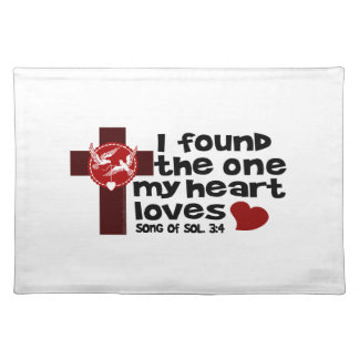 Song of Solomon 3:4 Placemat