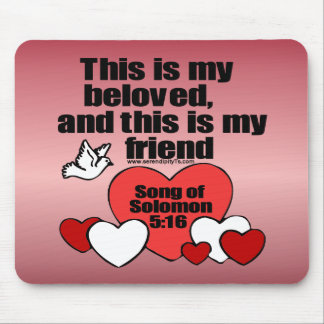 Song of Solomon 5:16 Mouse Pad