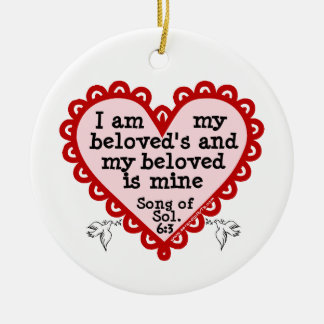 Song of Solomon 6:3 Christmas Ornaments