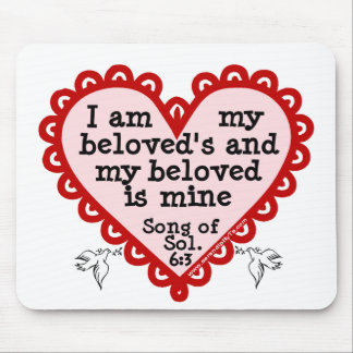 Song of Solomon 6:3 Mouse Pad