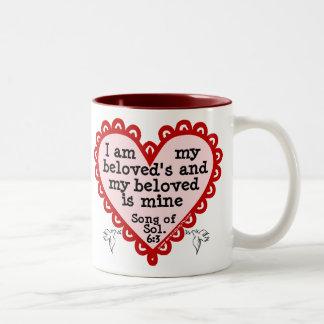 Song of Solomon 6:3 Two-Tone Mug