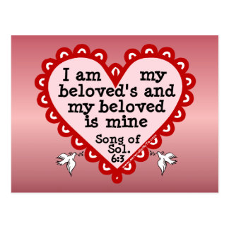Song of Solomon 6:3 Postcard