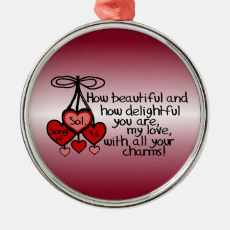 Song of Solomon 7:6 Ornaments