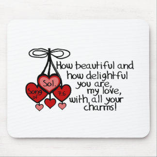 Song of Solomon 7:6 Mouse Pad
