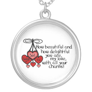 Song of Solomon 7 6 Personalized Necklace