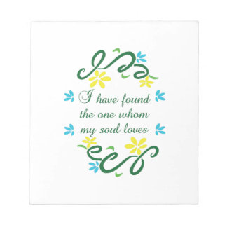 SONG OF SOLOMON SCRATCH PAD
