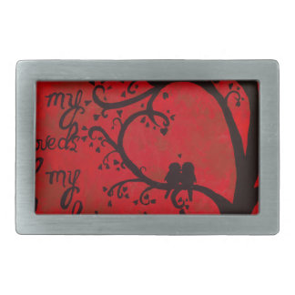 Song of Solomon Rectangular Belt Buckles