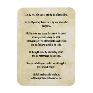 Song of Solomon Rectangular Photo Magnet