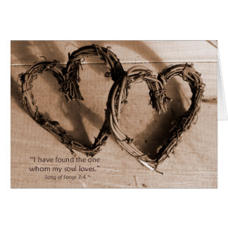 Song of Solomon Verse I love you Greeting Card