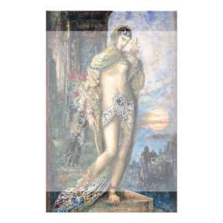 Song of Songs by Gustave Moreau Full Color Flyer