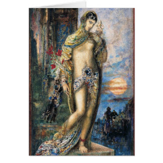 Song of Songs by Gustave Moreau Greeting Card