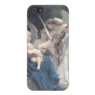 Song of the angels antique painting baby religion case for iPhone 5/5S