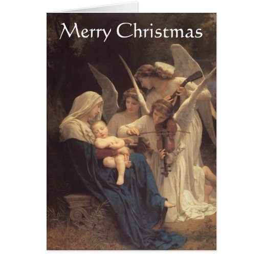 """Song of the Angels"" Christmas Card"