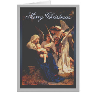 Song of the Angels Christmas Card