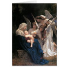 """""""Song Of The Angels"""" Christmas Greeting Card"""