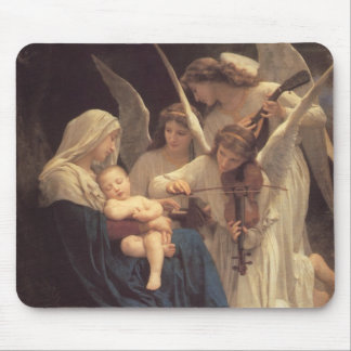 """""""Song of the Angels"""" Mousepad"""