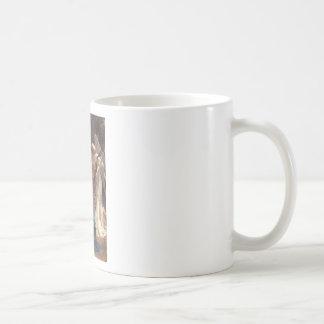 Song of the Angels - William-Adolphe Bouguereau Basic White Mug