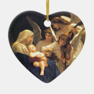 Song of the Angels, William-Adolphe Bouguereau Christmas Ornament