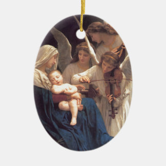 Song of the Angels - William-Adolphe Bouguereau Christmas Ornament