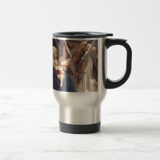 Song of the Angels - William-Adolphe Bouguereau Stainless Steel Travel Mug