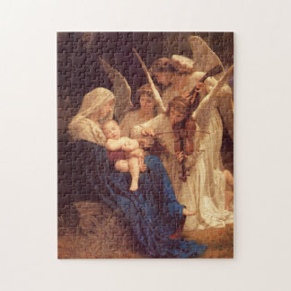 Song of the Angels William Bouguereau Fine Art Puzzles