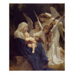 Song of the Angels -William Bouguereau Poster