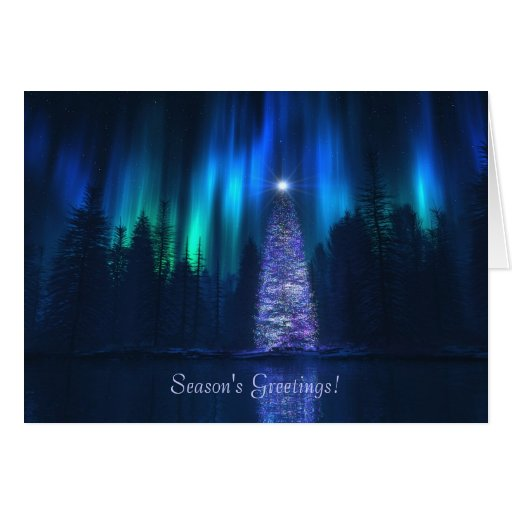 """Song of the Sky (Yuletide)"" Christmas Card"