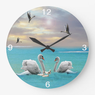 Song Of The White Swan, Large Clock