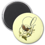 Songbird Initial G Refrigerator Magnet