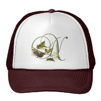 Songbird Initial N Hat