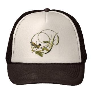Songbird Initial P Trucker Hat