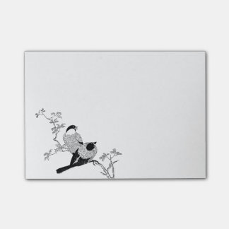 Songbird Post-it Notes
