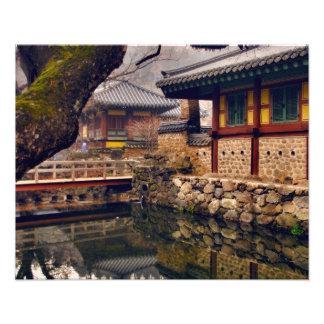 Songgwangsa Temple, Suncheon, South Korea Photo Art