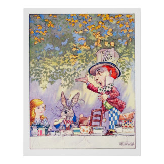 Songs From Alice: A Mad Tea Party Poster