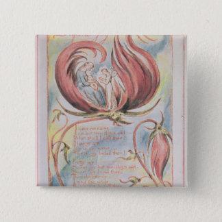 Songs of Innocence; Infant Joy, 1789 15 Cm Square Badge