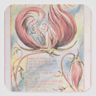 Songs of Innocence; Infant Joy, 1789 Square Sticker