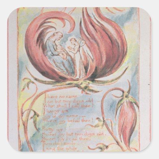 Songs of Innocence; Infant Joy, 1789 Sticker