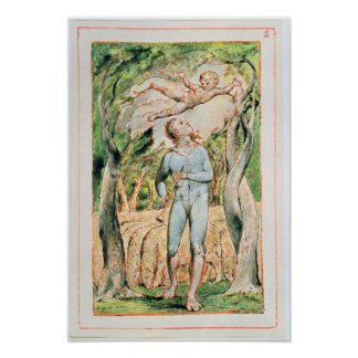 """Songs of Innocence; """"the Piper"""" , 1789 Poster"""