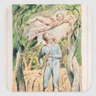 "Songs of Innocence; ""the Piper"" , 1789 Square Sticker"