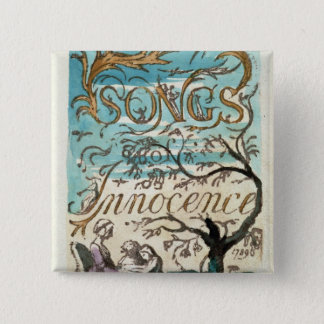 Songs of Innocence, title page 15 Cm Square Badge