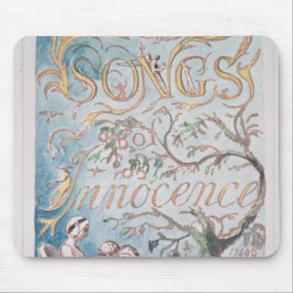 Songs of Innocence; Title Page, 1789 Mouse Mat